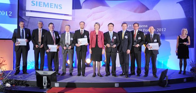 2012 SIEMENS Best Supplier Award